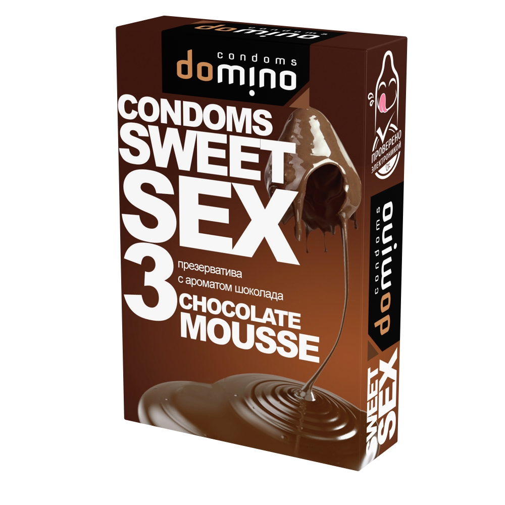 Презервативы Domino Sweet Sex Chocolate mousse №3