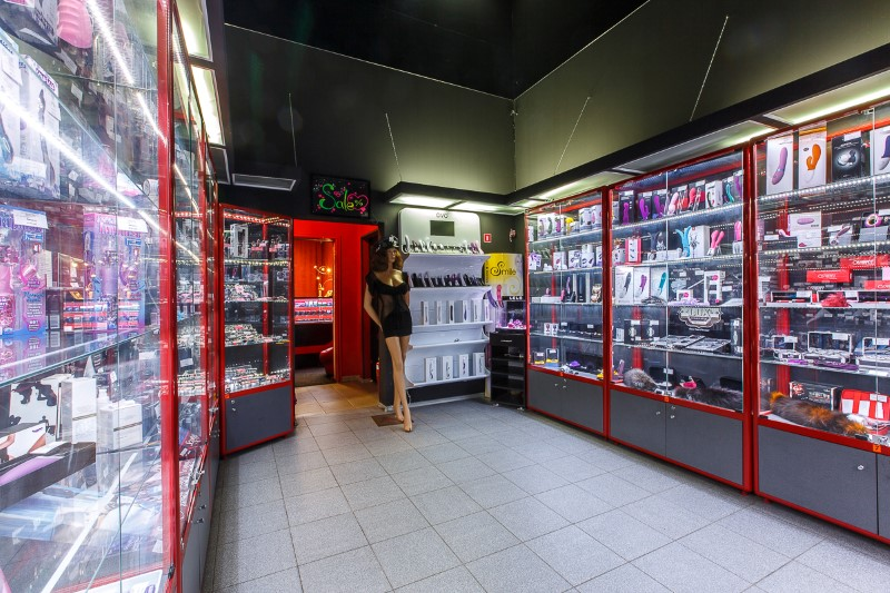 Интим магазин. Волжский проспект.